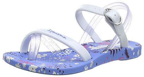 Ipanema Mädchen Fashion Sand VI Kids Slingback Sandalen, Mehrfarbig (Blue/White 8008), 31 EU