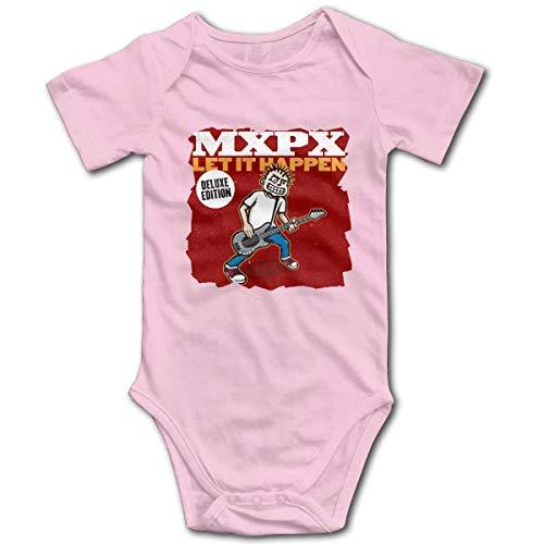 Irener Unisex Baby Kurzarm Body Baby MxPx Cotton Short-Sleeve Bodysuit Playsuit Boy's Girl's