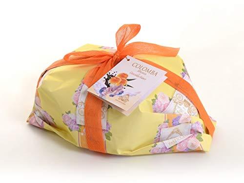 colomba artigianale Colomba Alta Pasticceria Agroalimenta 1 KG Colomba Artigianale Ricetta Tradizionale (Colomba Cioccolato bianco e albicocca)