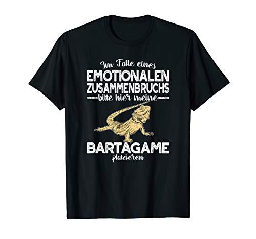 Bartagame Emotionalen Zusammenbruchs Agame Bartagamen T-Shirt