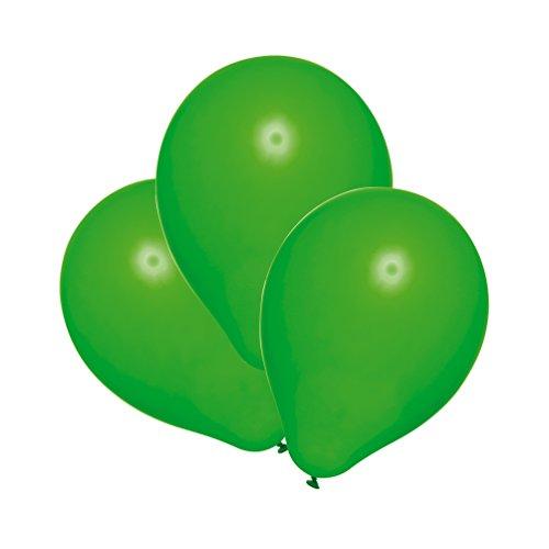 Susy Card 40011301 - Luftballons, 25er Packung, grün