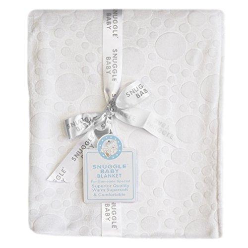 Snuggle Baby gaufré Couverture pour bébé, Blanc, Moses/Berceau/landau