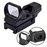 Die besten Leuchtpunktvisiers - TolleTour Zielfernrohre HD101 Leuchtpunktvisier, hochpräzises Visier mit rotem Bewertungen