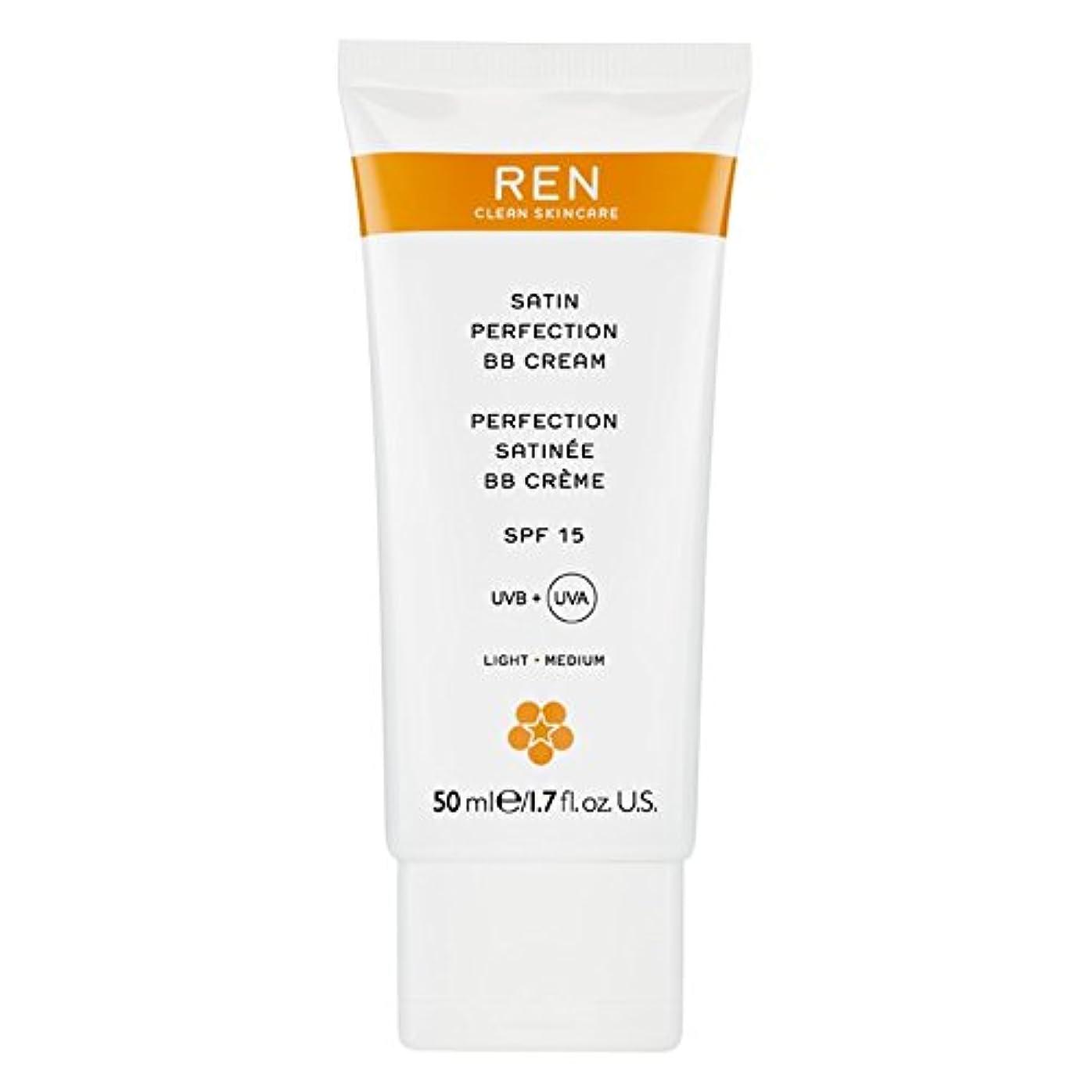 消費する比べるピービッシュRenサテン完璧Bbクリーム50ミリリットル (REN) (x2) - REN Satin Perfection BB Cream 50ml (Pack of 2) [並行輸入品]