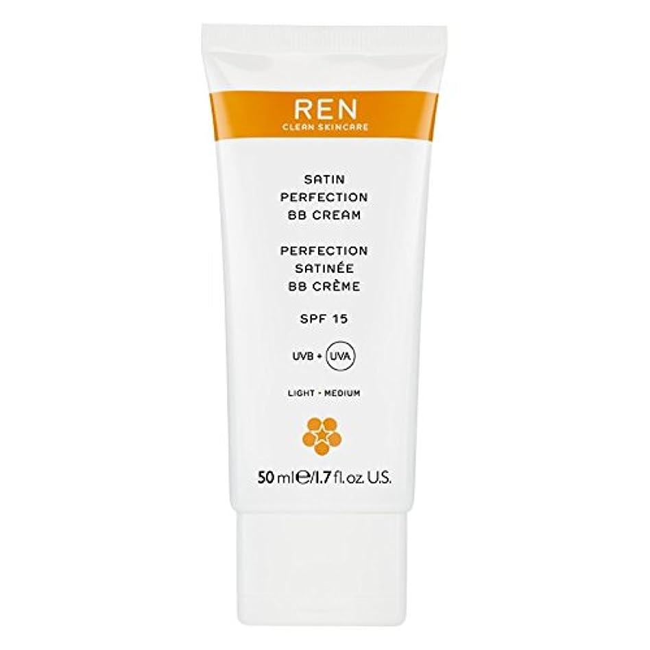 ティーム意味ピザRenサテン完璧Bbクリーム50ミリリットル (REN) (x6) - REN Satin Perfection BB Cream 50ml (Pack of 6) [並行輸入品]