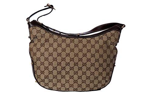 Gucci , Damen Schultertasche Braun Beige