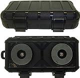 Grande Magnético Impermeable Stash Caja Contenedor para bajo el Coche Camión Furgoneta con Muy Fuerte Imanes para Sostener 10Kg