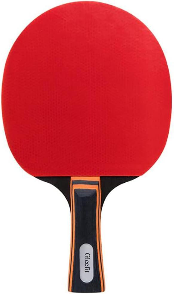 5 popular Gleefit Table Tennis Racket Double-Sided one Horizontal Under blast sales