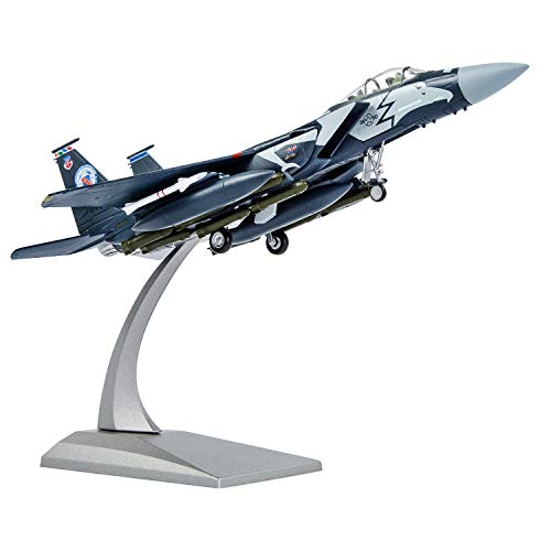 1/100 Scale F-15 Eagle Attack Plane Metal Fighter Military Model Fairchild Republic Diecast Plane Model for Commemorate Collection or Gifts