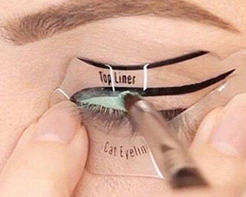 A-goo Eyeliner Stencil Tool-Schwarz