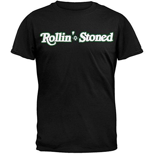 Kottonmouth Kings - Mens Rolling Stoned T-Shirt Small Black