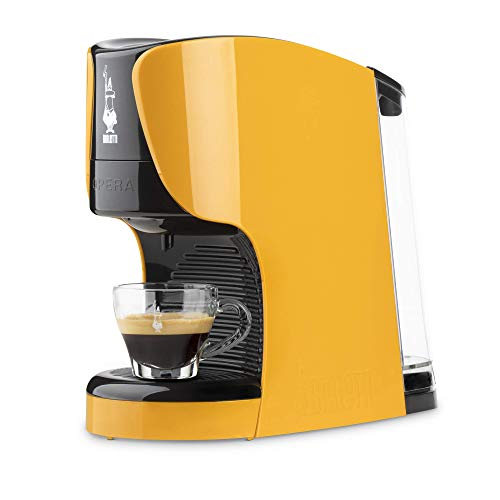 Bialetti - Cafetera expreso Opera para cápsulas de aluminio, sistema Bialetti, el café de Italia ocre