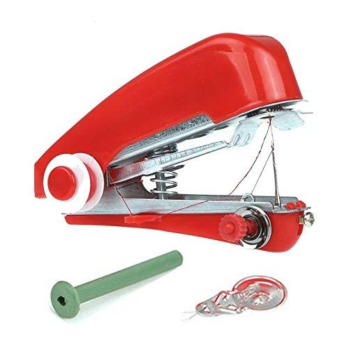 Naaimachines 1pc Handige Portable DIY handwerk Cordless Mini Kleding Stoffen Naaimachine Handheld Naaimachine ZHQHYQHHX