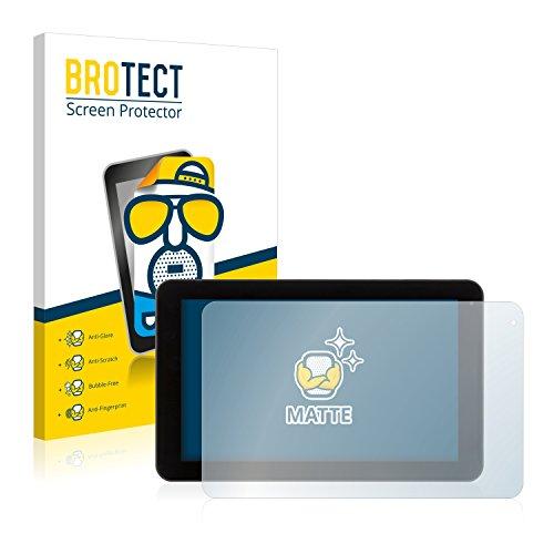 BROTECT 2X Entspiegelungs-Schutzfolie kompatibel mit Xoro TelePAD 9A1 Bildschirmschutz-Folie Matt, Anti-Reflex, Anti-Fingerprint