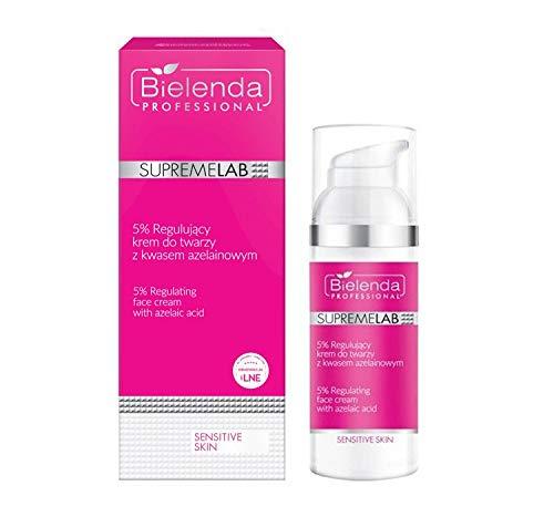 Bielenda Professional Supremelab Sensitive Skin 5% Regulierende Gesichtscreme Mit Azelainsäure 50ml
