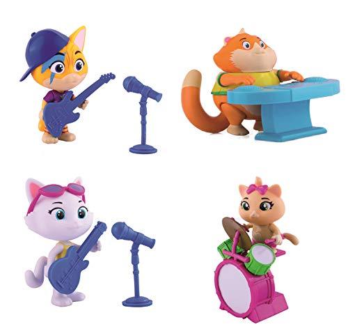 Simba Toys 180102, 44 Gatti-Personaggio 8 Cm Lampo Merchandising Ufficiale Unisex Bambino, m