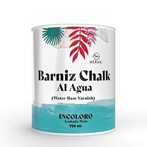 BARNIZ CHALK PAINT MERAKI, al agua mate (750ML)