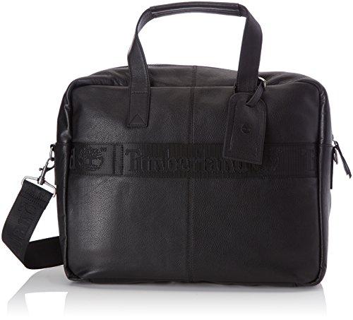 Timberland Tb0m5674, Borsa per PC Portatile Uomo, Nero (Black), 14x34x42 cm (W x H x L)