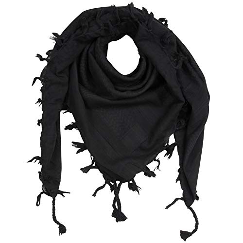 Superfreak Palituch - grau-dunkelgrau - grau-dunkelgrau - 100x100 cm - Pali Palästinenser Arafat Tuch - 100% Baumwolle