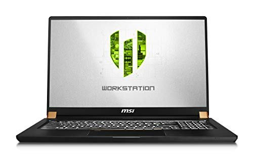 MSI WS75 9TL-496 17.3' FHD Thin and...