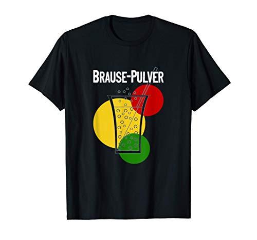 Brause Pulver DDR Süßigkeiten Erfrischungsgetränk Ostprodukt T-Shirt
