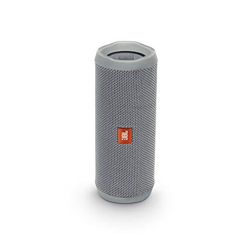JBL FLIP4 Bluetoothスピーカー IPX7防水/パッシブラジエーター搭載/ポータブル グレー JBLFLIP4GRY 【国内正規品】