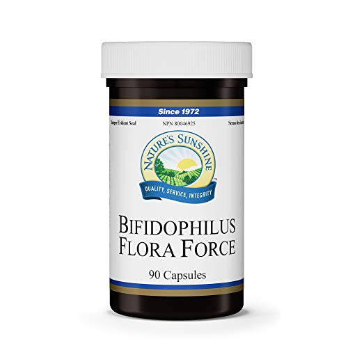 Nature's Sunshine Bifidophilus Flora Force 90 Capsules