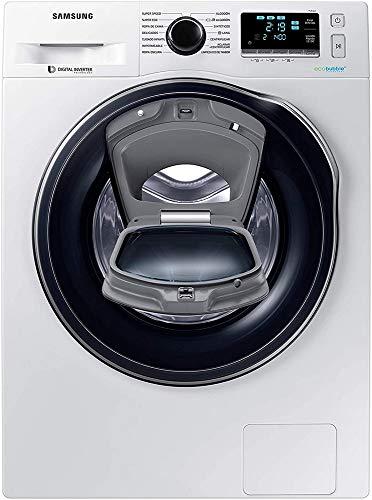 Samsung - Lavadora Addwash™ Serie 6 8kg WW80K6414QX, A+++, Carga Frontal, Inox,...
