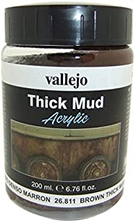 Vallejo Brown Thick Mud, 200ml