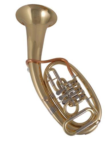 Music World mwthd de 401Niños Tenor Horn en B–Latón lacado