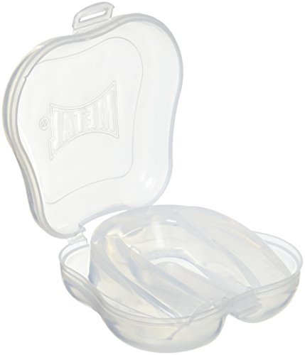 METAL BOXE-Protector bucal, Color Blanco