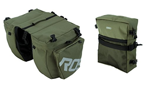 Roswheel 3-In-1 Expedition Touring Pannier