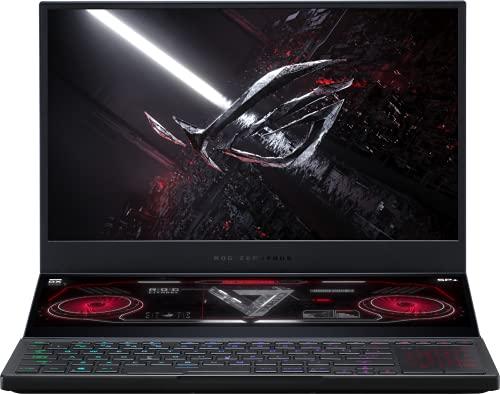 "CUK ROG Zephyrus Duo 15 Gaming Notebook (AMD Ryzen 9 5900HX, 32GB RAM, 1TB NVMe SSD, NVIDIA GeForce RTX 3080 16GB, 15.6"" FHD 300Hz IPS, Windows 10 Pro) Gamer Laptop Computer (Made_by_ASUS)"