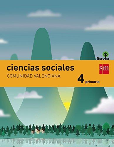 Ciencias sociales. 4 Primaria. Savia. Comunidad Valenciana
