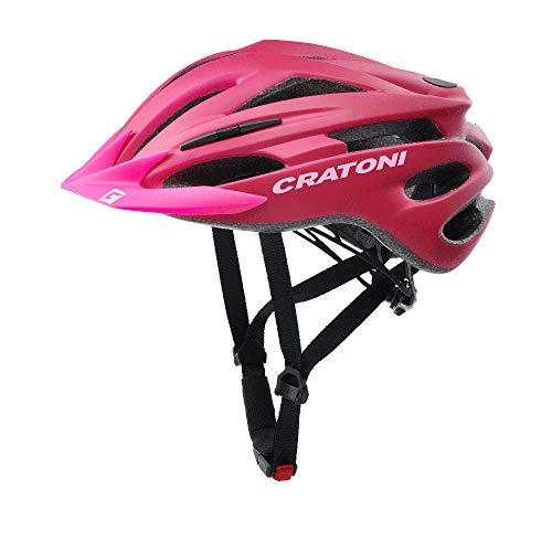 Cratoni Pacer+ Fahrradhelm (pink matt, S-M (54-58 cm))