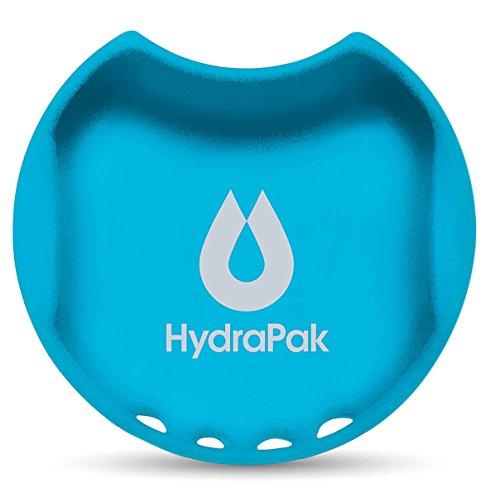 Hydrapak Watergate Wide Mouth Water Bottle Splash Guard, Malibu Blue, 63mm