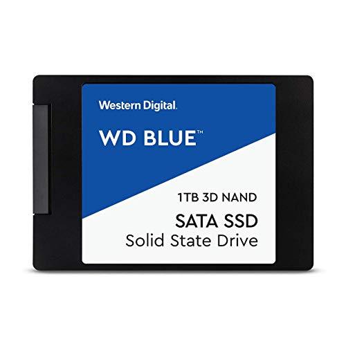 """WD Blue 1TB 3D NAND SATA III 6Gb/s 2.5"""" Internal Solid State Drive"""
