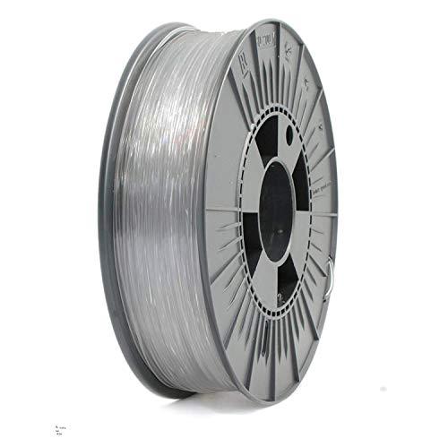 PLA+ Filamento para impresora 3D 1.75mm, 825gr Bobina, (Transparente)