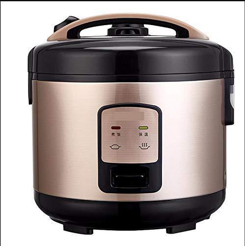 L&WB Rice Cooker Petit, Commercial Rice Cooker 5L 4-5-6-7-8 Personnes Mijoteuses-d'or Électrique