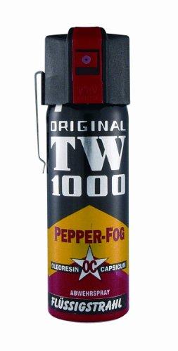 TW1000 Pfefferspray 63 ml Flüssigstrahl Abwehrspray