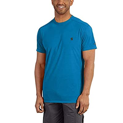 Carhartt Men's Force Extremes Short Sleeve T Shirt, Dynamic Blue, 4X-Large by Carhartt