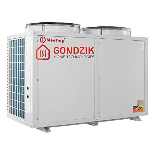 Meeting MD100D Luft Wasser Wärmepumpe Luftwärmepumpe 36 KW Neuware(Standard (weiß),Ohne Brauchwassermodul (D))