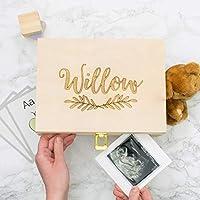 Personalised Laurel Newborn Keepsake Box
