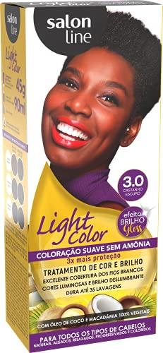 Light Color 3.0 Castanho Escuro Salon Line, Salon Line, Marrom