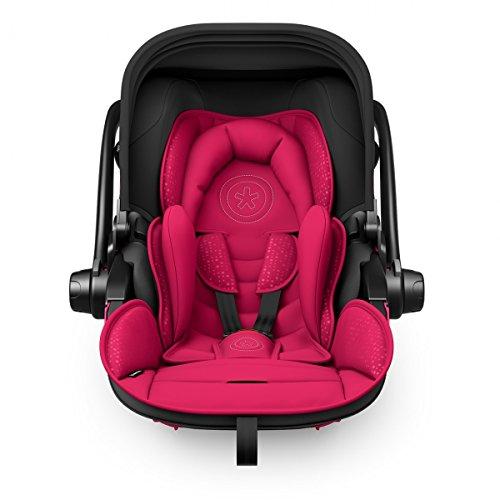 Kiddy Babyschale Evoluna i-Size 2 inkl. Isofix Base 2, 2018, Farbe:Berry Pink