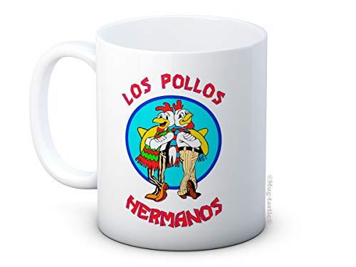 Los Pollos Hermanos Breaking Bad - Taza de té de café de cerámica de alta calidad
