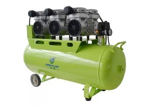 Hot Dental GA(83) 2400W-90L Silent Oil Free Air Compressor For 6PC Dental Chair BY SoHome