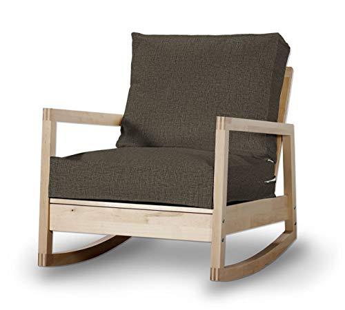 Dekoria Lillberg Sesselbezug Husse passend für IKEA Modell Lillberg beige-braun