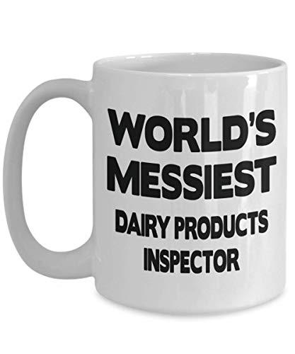 os mejores regalos para inspectores de productos lácteos - Regalos para inspectores de productos lácteos a granel - Taza para inspectores de productos lácteos para hombres y mujeres - Taza de