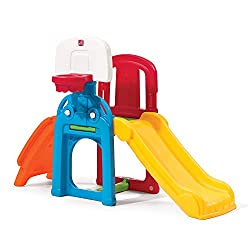 commercial Step 285314 Playtime Sports Climber and Slide small toddler slide